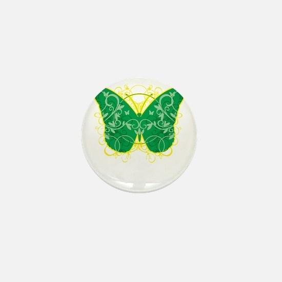 Gastroparesis-Butterfly-blk Mini Button