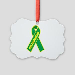 Gastroparesis-Hope-blk Picture Ornament