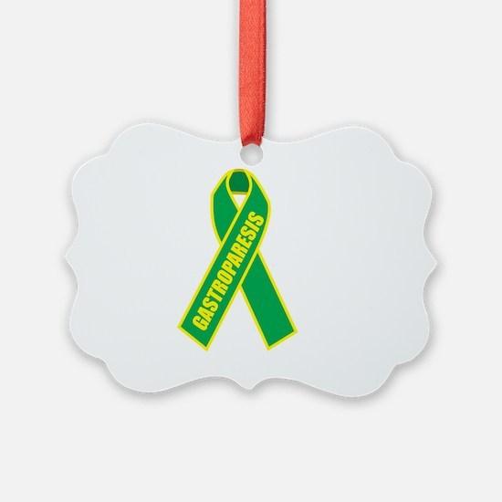 Gastroparesis-Hope-blk Ornament