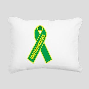 Gastroparesis-Hope-blk Rectangular Canvas Pillow