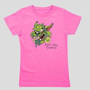 franken cat 10-10 Girl's Tee