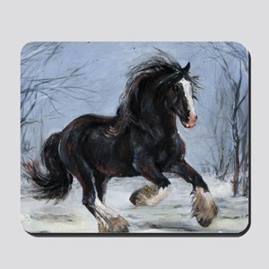 Winter Canter Mousepad