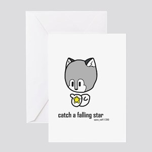catch a falling star Greeting Card