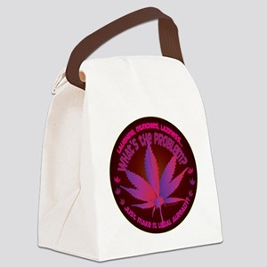 Puff puff pass prop 19 Canvas Lunch Bag