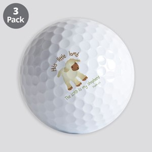 His little lamb Blank Golf Balls