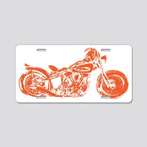 bobber bike Aluminum License Plate