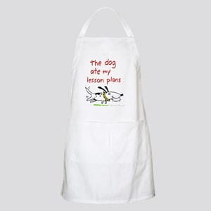dog-ate-plans Apron
