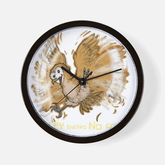 AshleyNoFearDARK Wall Clock