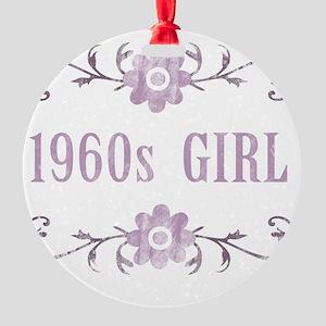 FlowerGirl1960 Round Ornament
