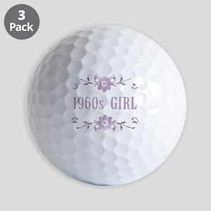 FlowerGirl1960 Golf Balls