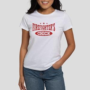 Firefighter Chick Women's T-Shirt