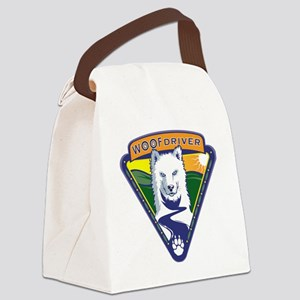 WoofDriverLogoShirt Canvas Lunch Bag