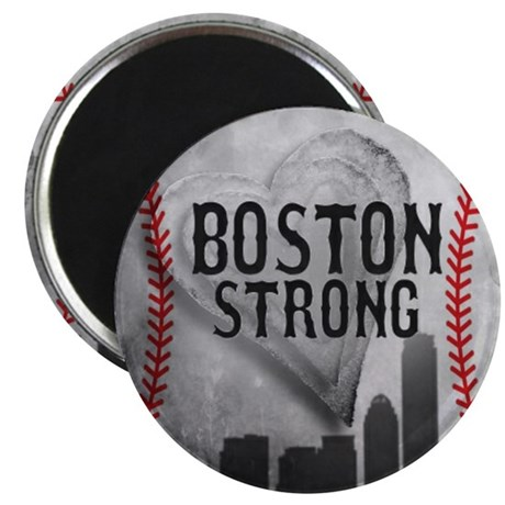 Boston Strong by Vetro Jewelry & Designs Magnet