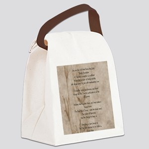 STAHM FP Canvas Lunch Bag