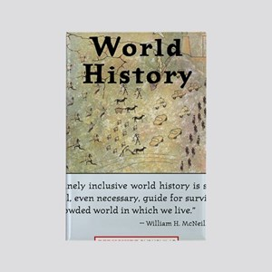 World History T-Shirt Front Rectangle Magnet