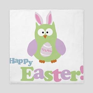 Happy Easter Owl Queen Duvet