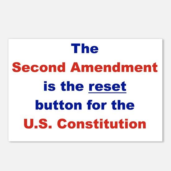 THE SECOND AMENDMENT IS T Postcards (Package of 8)