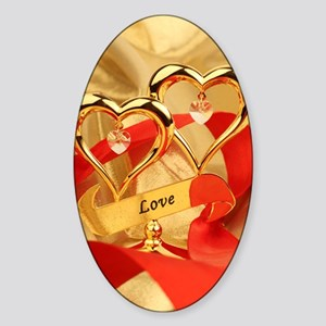 Love Sticker (Oval)
