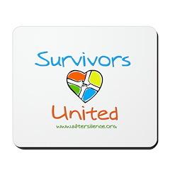 Survivors United Mousepad
