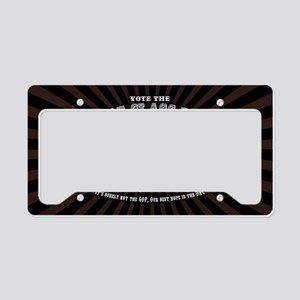 2-emcee-party-OV License Plate Holder