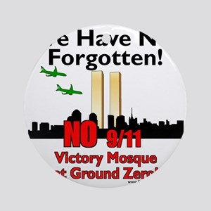 victory mosque we have not forgotte Round Ornament