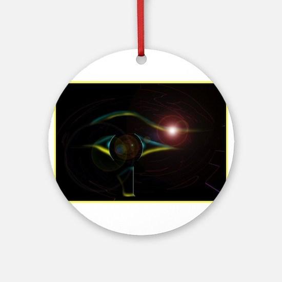 10-eye1.jpg Ornament (Round)