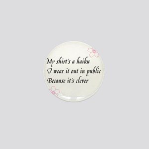 Haiku Shirt Mini Button