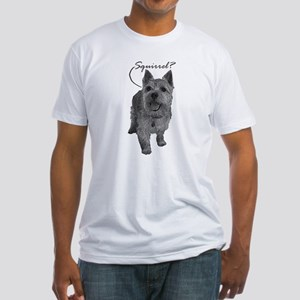 Norwich Terrier - Squirrel? Fitted T-Shirt