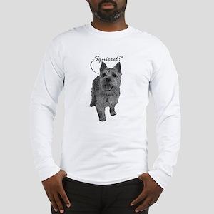 Norwich Terrier - Squirrel? Long Sleeve T-Shirt