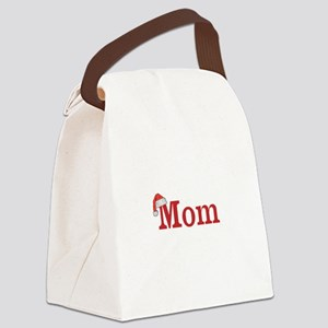 Christmas Mom Canvas Lunch Bag