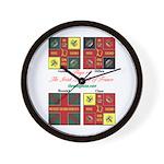 Flags/Irish Brigade France - Wall Clock