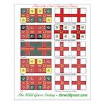 Flags/Irish Brigade France-Small Poster