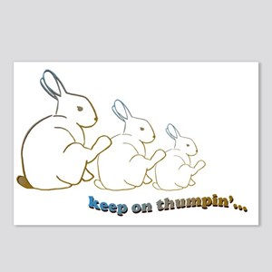 keep on thumpin copy Postcards (Package of 8)