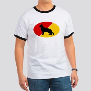 German Flag Shepherd Ringer T
