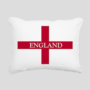 NC English Flag- England Rectangular Canvas Pillow