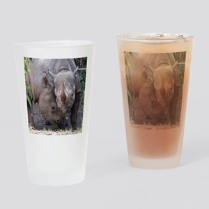 cuddle Drinking Glass