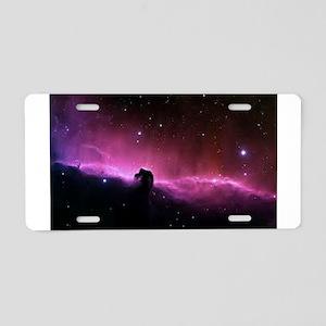 The Horsehead Nebula Aluminum License Plate