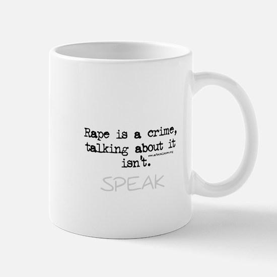Talk About It Mug