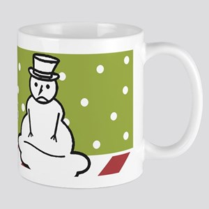 Melting Snowman Mugs
