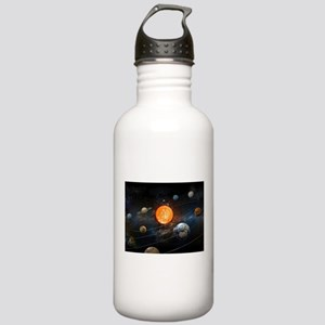 The Solar System Water Bottle