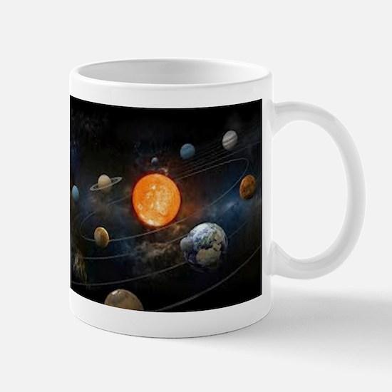 The Solar System Mugs