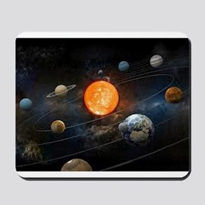 The Solar System Mousepad
