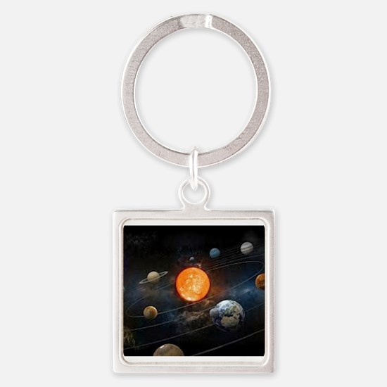 The Solar System Keychains