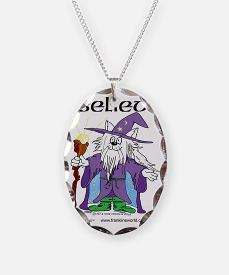 I Believe Cat Three Times Necklace
