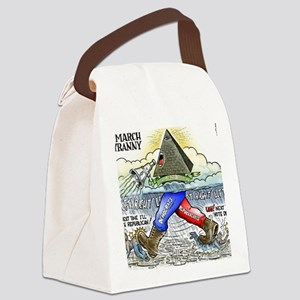 march_of_tyranny Canvas Lunch Bag