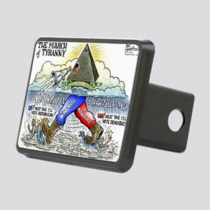 march_of_tyranny Rectangular Hitch Cover