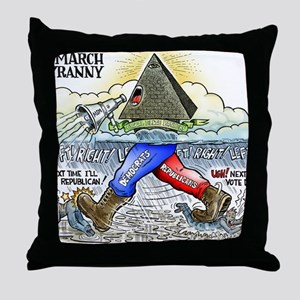 march_of_tyranny Throw Pillow