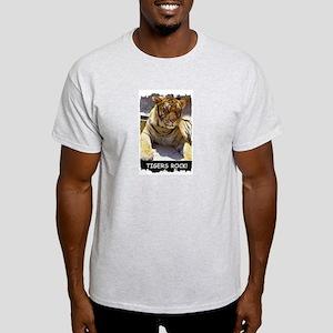 TIGERS ROCK! Ash Grey T-Shirt