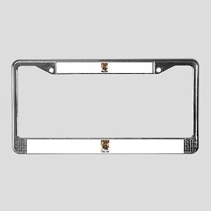 TIGERS ROCK! License Plate Frame