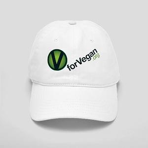 VforVeganGraphic-wide_FullColorSlant Cap